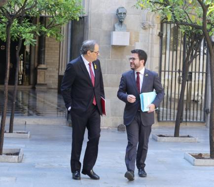 """Torra diu que """"l'eix central"""" és """"dotar-nos d'una Constitució catalana"""""""