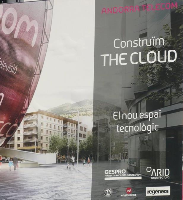El govern segueix amb la promoció del projecte de 'The Cloud'