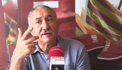Álvarez (UGT) no veu prioritari el referèndum