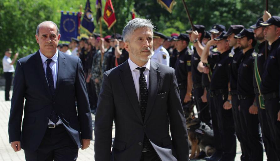 """Marlaska: """"La seguretat és competència exclusiva de l'Estat"""""""
