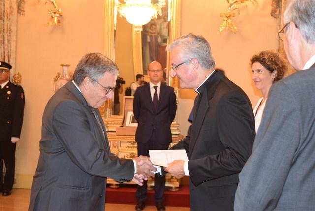 El copríncep d'Andorra rep les credencials d'Àngel Ros com a nou ambaixador