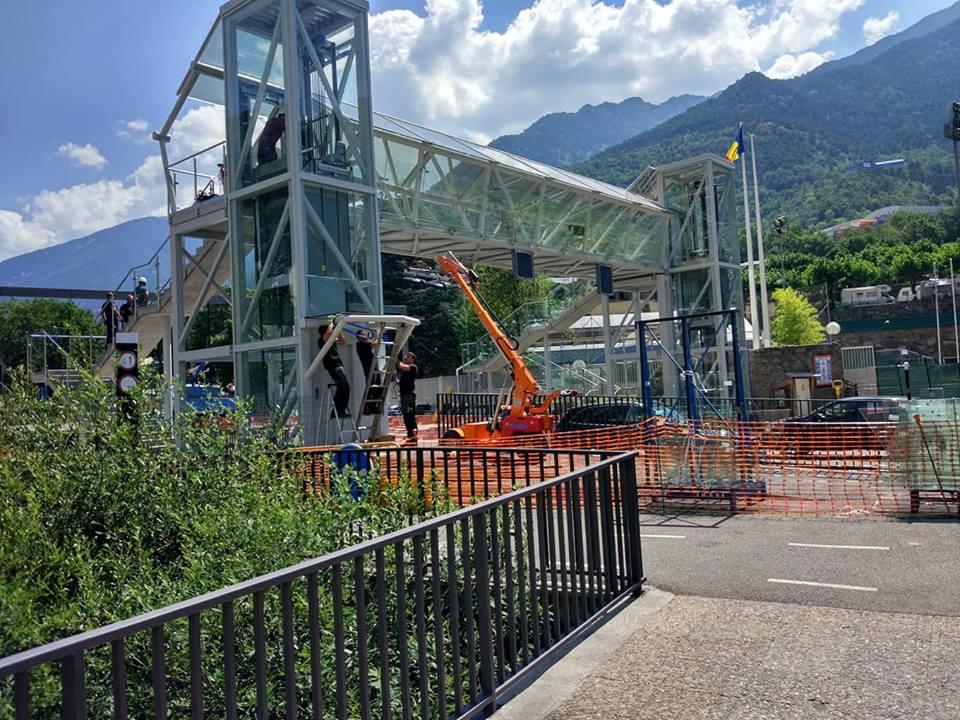 Més obres a Andorra sense acabar, en els terminis previstos