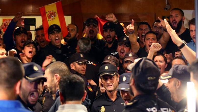 El govern espanyol envia 600 policies per la Diada i l'1-O