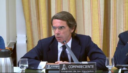 Aznar acusa ERC de trencar Catalunya