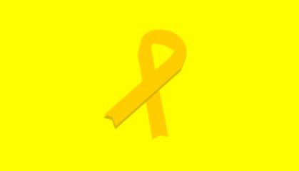 Llaços grocs a les agendes escolars