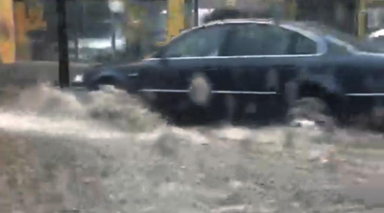 Les inundacions a Santa Coloma qüestionen les obres de reforma de la cònsol Marsol