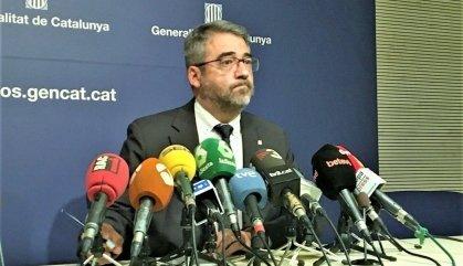 Buch s'amaga darrere del director general dels Mossos