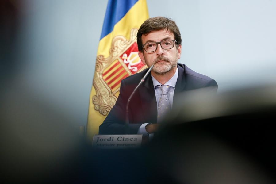 """Cinca diu que Andorra té """"tot el dret a aixecar-se de la taula negociadora"""" amb la Unió Europea"""