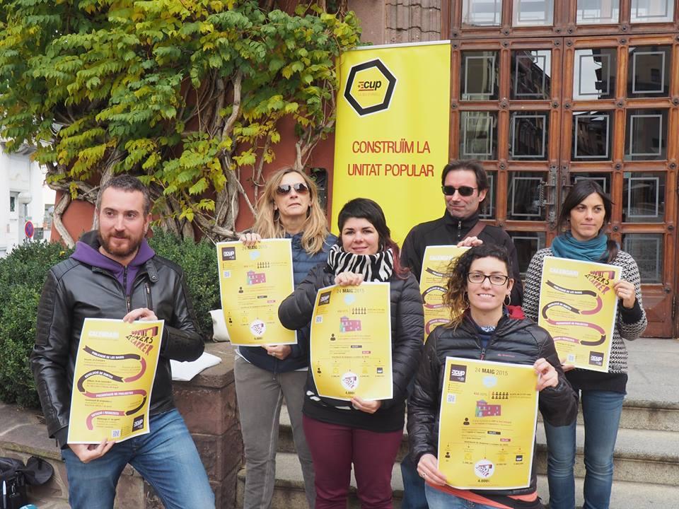 La CUP de la Seu destina part dels ingressos institucionals a 'Diners al carrer'