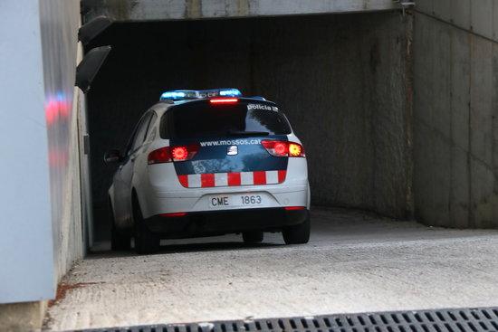 Detingut per atracar una benzinera a Prats i Sansor, a la Cerdanya
