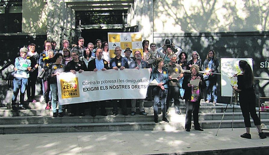 3.200 entitats denuncien la cronificació de la pobresa a Catalunya