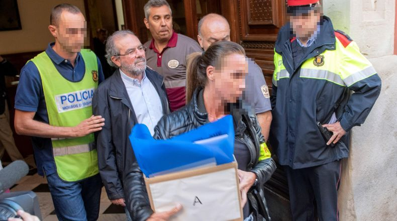 Més declaracions en la trama de 'corrupció' de CDC a ajuntaments i Diputació de Lleida