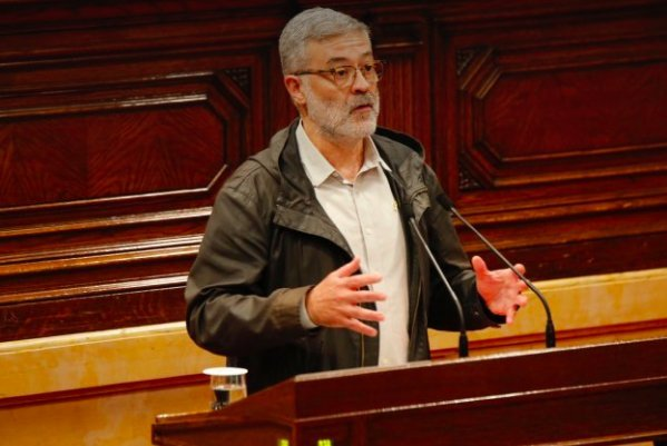 """Carles Riera: """"No comptin amb nosaltres per a la governabilitat d'aquesta autonomía"""""""
