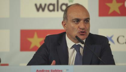 Detingut Subies, expresident de la Federació Catalana de Futbol