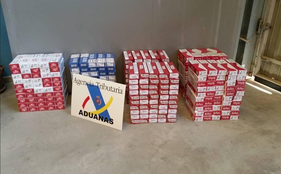 Intervenen a un andorrà 3.000 paquets de tabac de contraban