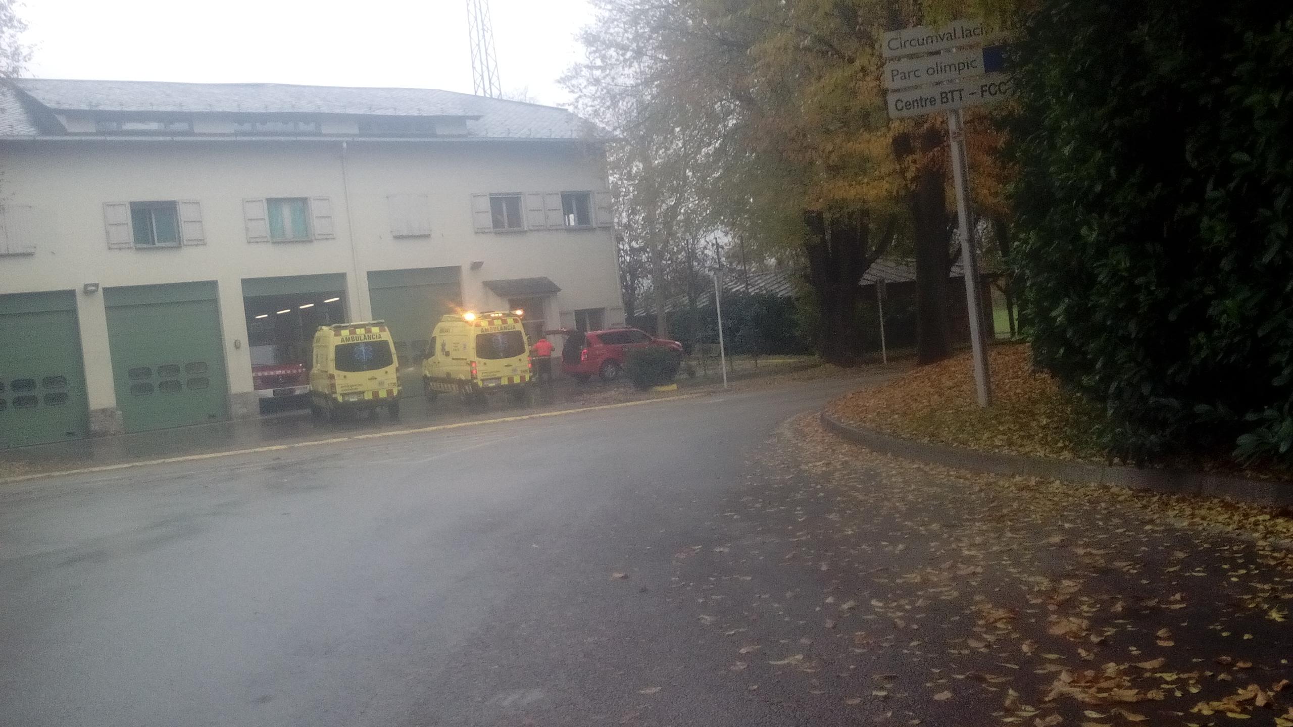 Dues persones ferides, una de gravetat, en un accident laboral a Montant de Tost