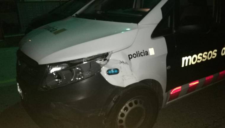 Detingut a la Seu un conductor en estat etílic que circulava sense  punts al carnet