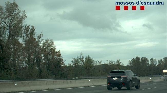 Enxampen un conductor andorrà que circulava a 213 km/h per l'AP-7 a l'Empordà