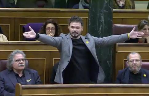Pastor expulsa Rufián del ple
