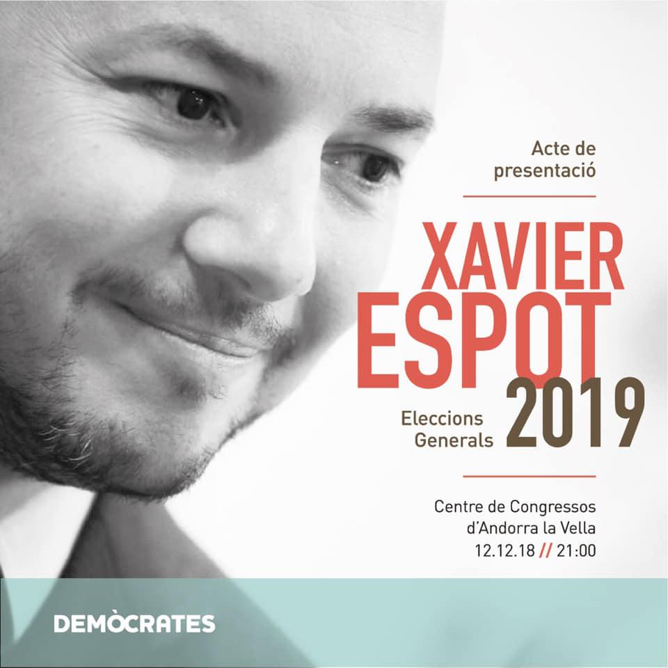 El PS demana la dimissió d'Espot per fer campanya electoral