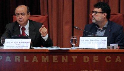 El Poder Judicial reclama un pla per protegir els jutges a Catalunya