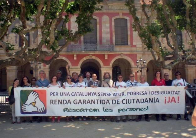 Revolta contra les denegacions de la Renda Garantida de Ciutadania