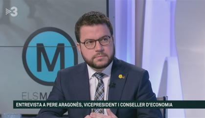 """Aragonès diu que """"les lleis actuals no són el límit"""" pels catalans"""
