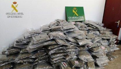 Confiscació de marihuana rècord a Espanya en una operació a Catalunya