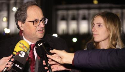 Arxivada la querella de Torra contra el líder de Cs a Andalusia