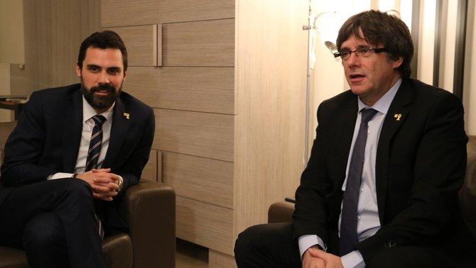El recurs de Puigdemont reobre la crisi entre JxCat i ERC