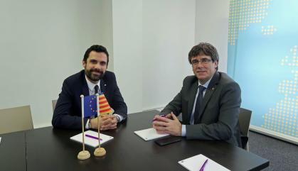 """Torrent diu que """"no ha canviat res"""" sobre la investidura de Puigdemont"""