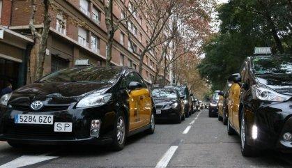 Els taxistes avisen que la vaga es pot escampar per Catalunya
