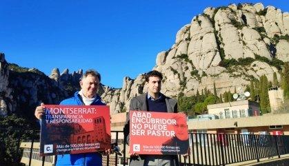 """Demanen la dimissió del Pare Abat de Montserrat per """"encobrir"""" abusos"""
