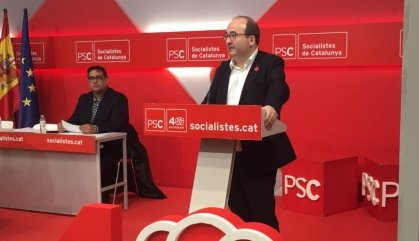Miquel Iceta critica la ingerència de Puigdemont en el debat pressupostari