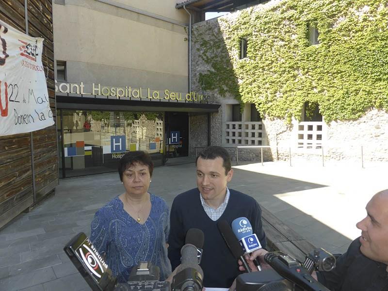 Compromís per la Seu defensa al Parlament més inversió per a l'Hospital