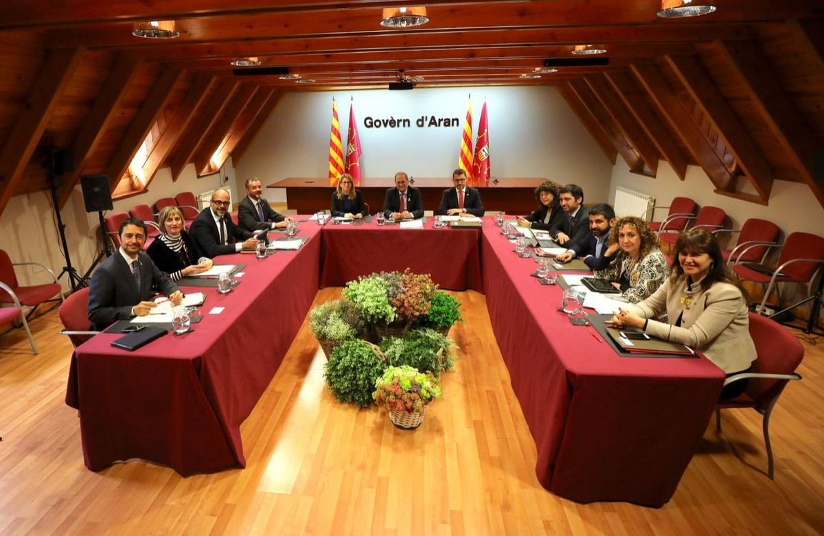 """UA qualifica de """"folklore legislatiu"""" l'actitud del govern de Quim Torra amb la Vall d'Aran"""
