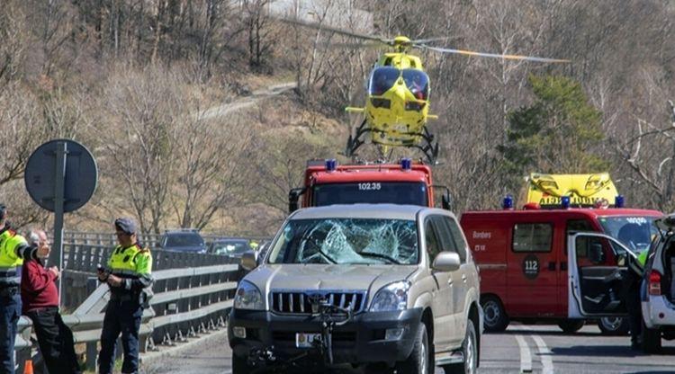 Presó provisional per al conductor que va atropellar un ciclista a Martinet