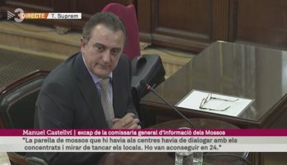 Puigdemont, Junqueras i Forn, 'muts' sobre Castellví