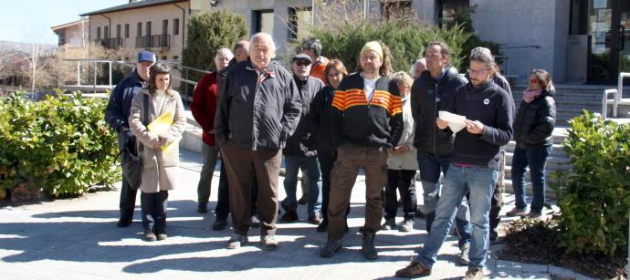 Dos membres del CDR de la Cerdanya desobeeixen la citació judicial pels talls de vies