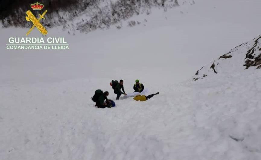 La Guàrdia Civil localitza mort un excursionista francès a la Val d'Aran