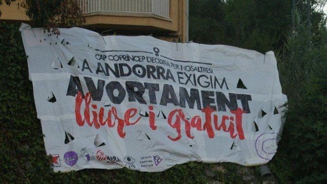Stop Violències portarà el dret a l'avortament a Europa