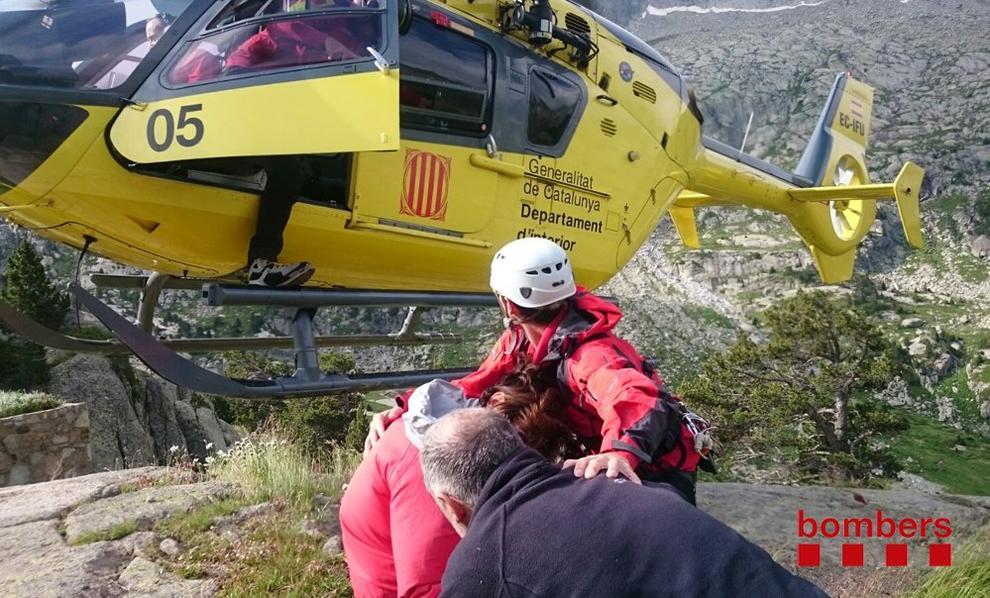 Mor un excursionista de 55 anys en caure quan baixava d'una ermita a Tremp