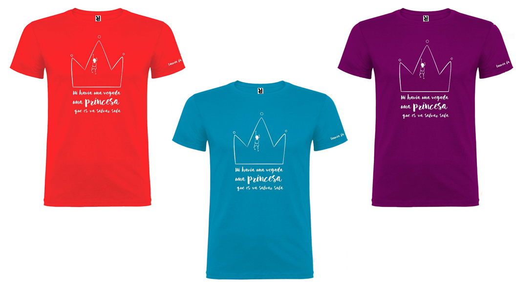 Alumnat de la Seu dissenya samarretes en contra dels estereotips de gènere als contes