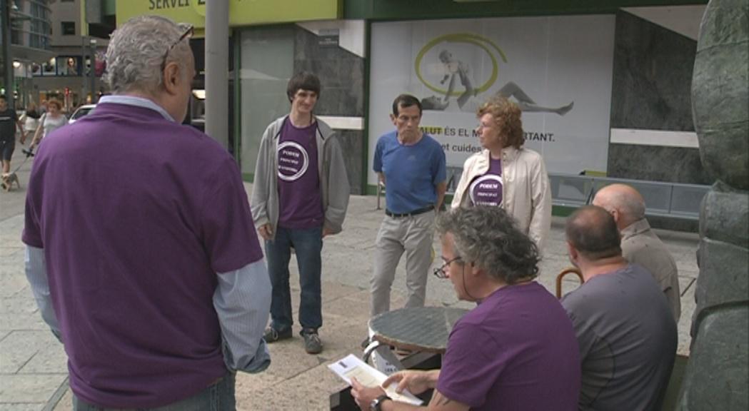 """Podem valora """"l'aire de canvi social que es respira a Andorra"""""""