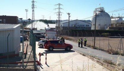 Un treballador mort i un altre en estat crític en una fuita d'amoníac