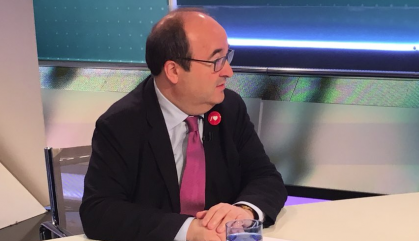 Sánchez proposa que Iceta presideixi el Senat