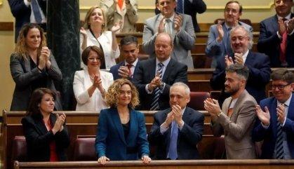 Batet i Cruz, nous presidents del Congrés dels Diputats i del Senat