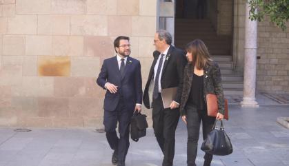 Torra exigeix a Sánchez l'excarceració els dirigents 'indepes' presos