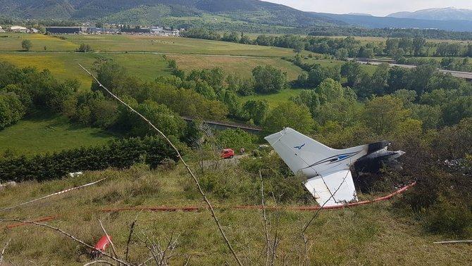 Dos francesos moren en estavellar-se una avioneta a l'Alta Cerdanya