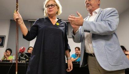 L'alcaldessa de Santa Coloma de Farners denuncia la cacicada de Torra